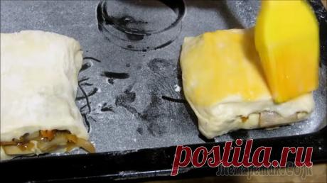 Картофельные пирожки с любимой начинкой из грибов
