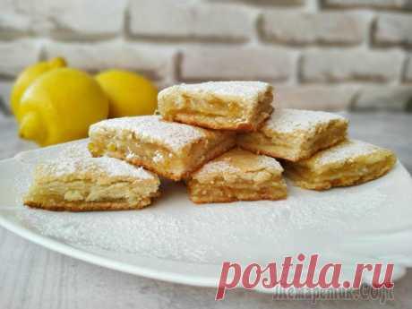 Вкуснейший трехслойный лимонник (Лимонный пирог) Сегодня я готовлю лимонник. Этот рецепт лимонного пирога – это лучший выбор для любителей цитрусовой выпечки. Лимонник получается сочным, не приторным, не кислым, вкус просто гармония! Домашняя выпечк...