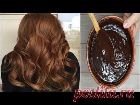 Naturalna brązowa farba do włosów 100% domowej roboty z prostymi składnikami Urdu Hindi Ur