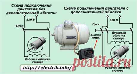 Однофазный асинхронный двигатель: как устроен и работает