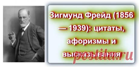 📖 Зигмунд Фрейд: цитаты, афоризмы и высказывания Источник: https://blog-citaty.blogspot.com/  #цитата #цитаты #Blog_citaty