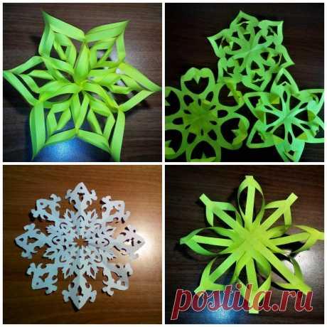 Как сделать снежинку из бумаги? 7 легких и красивых способов вырезания снежинок своими руками