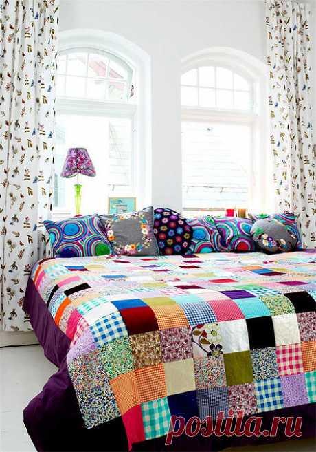 «Лоскутное шитье нравится тем, что можно использовать все запасы обрезков ткани и старую одежду. » — карточка пользователя shevchenko.nalasha в Яндекс.Коллекциях
