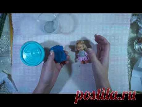 Лицо для ватных игрушек своими руками. Самые простые техники. Часть 1