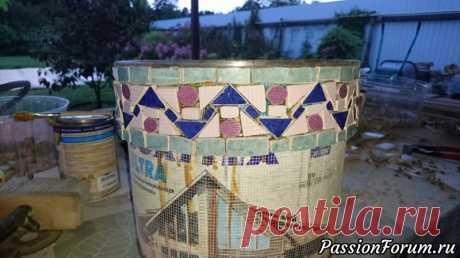 Ведро или небольшие советы начинающими мозаистам - запись пользователя FEKLA (Татьяна) в сообществе Новая жизнь старых вещей в категории Все для дома