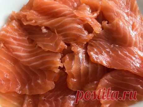 Солим красную рыбу ФИНСКИМ способом - засолила…и блаженствую я уже месяц…солю и ем, солю и ем...
