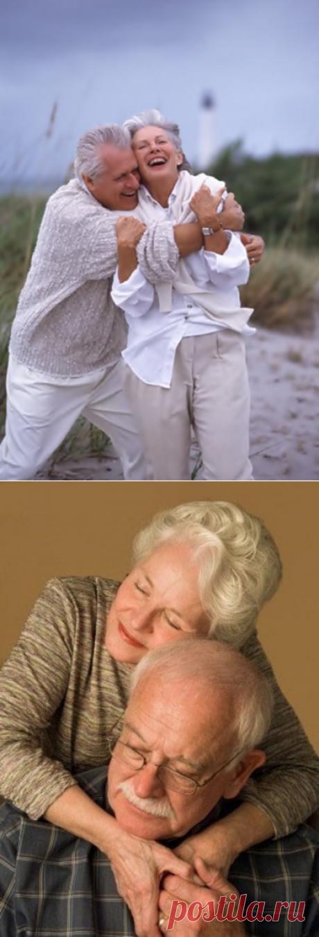 Бабушка рядышком с дедушкой: 24 милых, забавных, страстных и трогательных фото