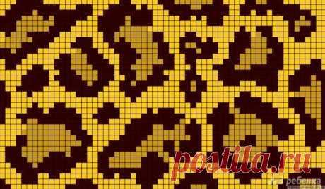 Шапка леопардовым узором — DIYIdeas