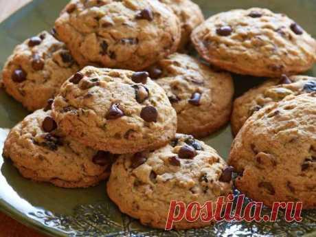 Рецепт приготовления шоколадного печенья к чаю