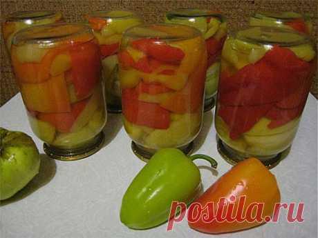 Пикантные яблоки, маринованные с перцем и чесноком / Простые рецепты