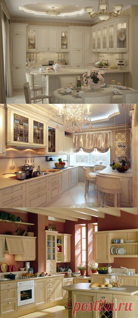 Дизайн классической кухни: правила оформления интерьера и стильные идеи