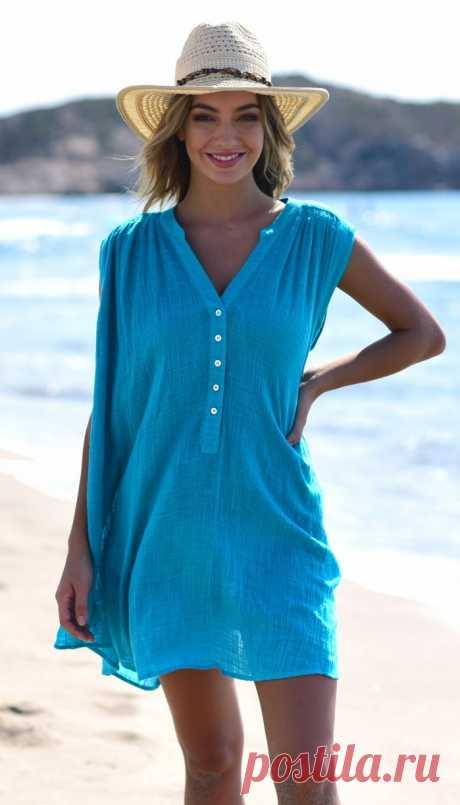 Пляжная рубашка Eden Swing Seafolly   Коко Бэй