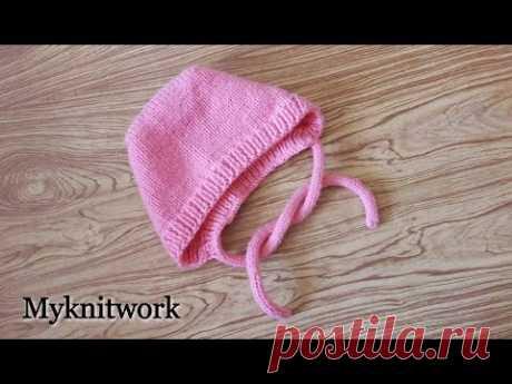 Cap spokes. MK. Children's cap.