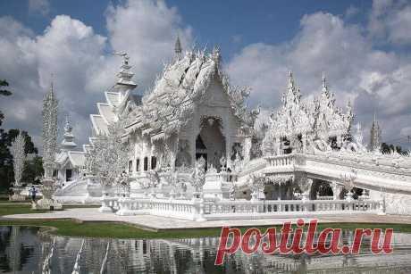 Белый храм Ват Ронг Кхун: самый удивительный и необычный буддийский храм | Тысяча одна идея
