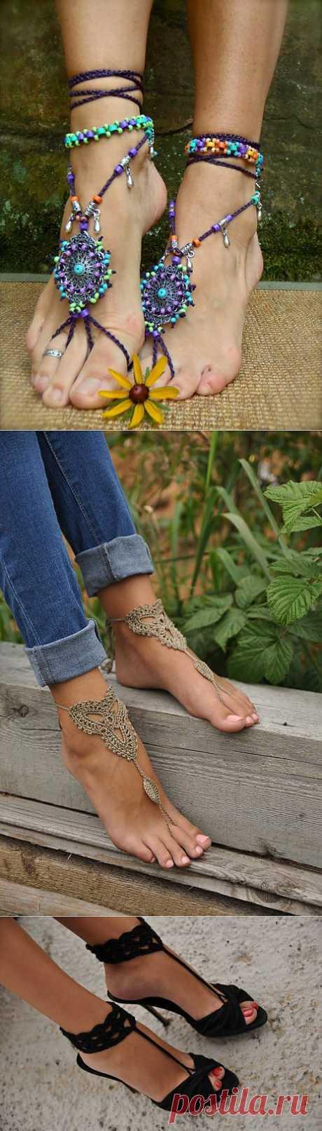 Barefoot legs....