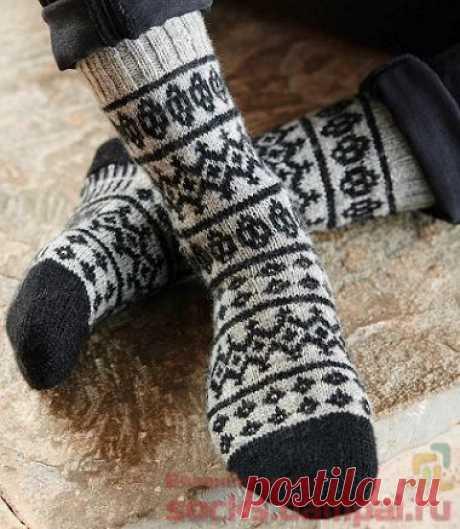 Мужские вязаные носки «Skerries»   ВЯЗАНЫЕ НОСКИ