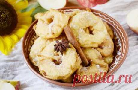 Вкуснейшие яблочные пончики -оригинальное лакомство для детей и взрослых