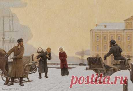 Житие блаженной Ксении Петербургской в картинах Александра Простева - Ярмарка Мастеров - ручная работа, handmade