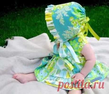 Как правильно сшить чепчик для новорожденного, выбор ткани и украшений