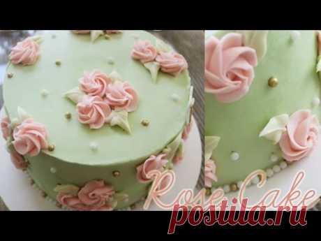 ¡Rose Cake!