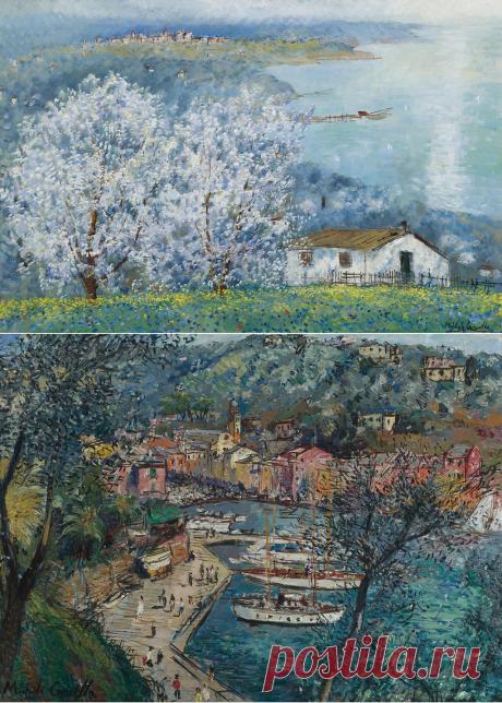 """Из коллекции """"Сотбис."""" Итальянский художник Michele Cascella. (1892-1989)."""