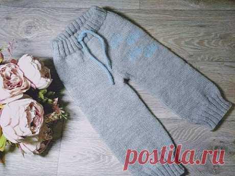 Los pantalones infantiles por los rayos sin costuras a cualquier dimensión (de 0 a 4 años).