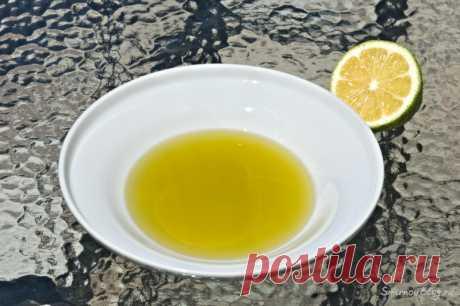 Оливковое масло и сок лимона — вкусная и полезная закуска - Блог Смирновых