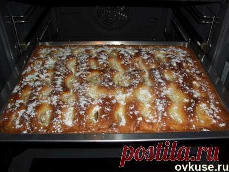 Пирог с яблоками! просто пирожное - Простые рецепты Овкусе.ру