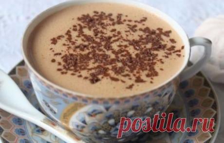 Горячий Зефирный ароматный шоколад по-австрийски