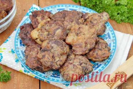 Куриная печень в сметанно-чесночном кляре - пошаговый рецепт с фото на Повар.ру