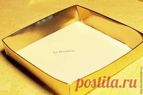 Создаем роскошную упаковку для украшения