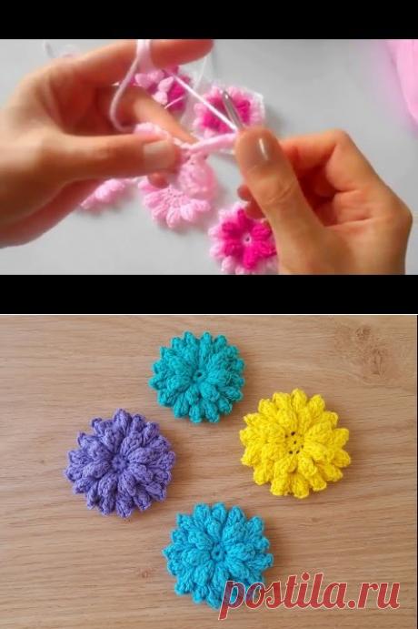 Çiçek Motif Yapıl ışı # 1 - YouTube