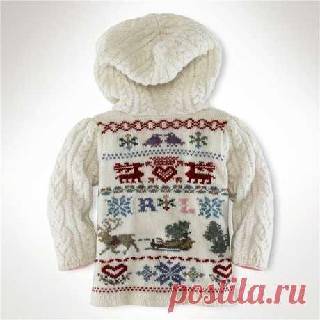 Симпатичные узоры для детского пуловера из категории Интересные идеи – Вязаные идеи, идеи для вязания
