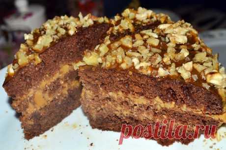 Торт «Черный принц» на кефире ( в мультиварке и духовке) | Четыре вкуса