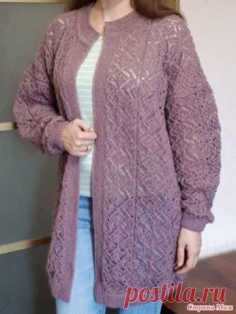 Длинный кардиган спицами, 40 схем и описаний для вязания, Вязание для детей