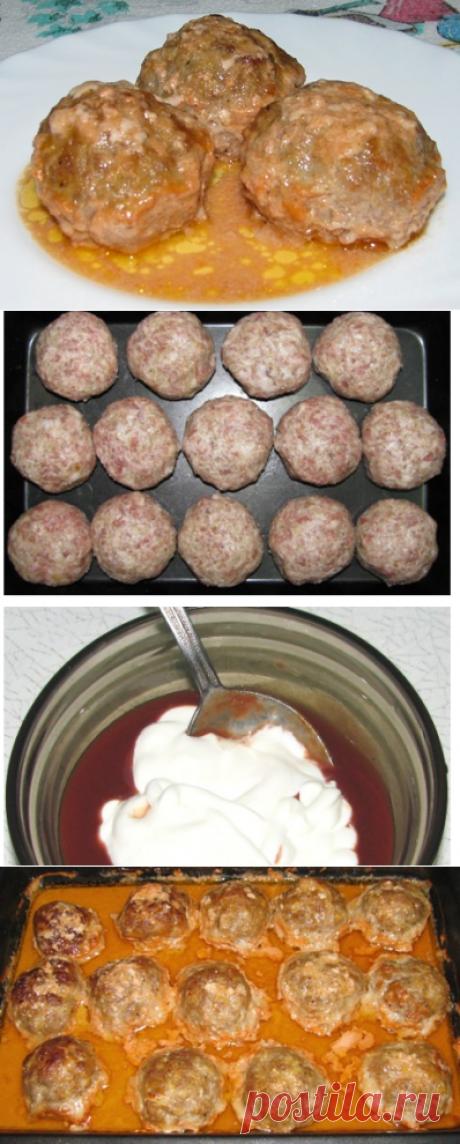 (3) Odnoklassniki Bitochki de carne con la salsa