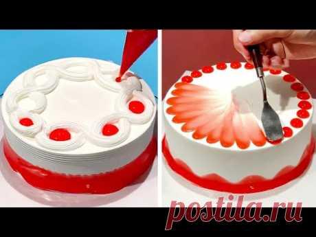 5+ Creative Cake Decorating Ideas Like a Pro   Most Satisfying Chocolate Cake Compilation