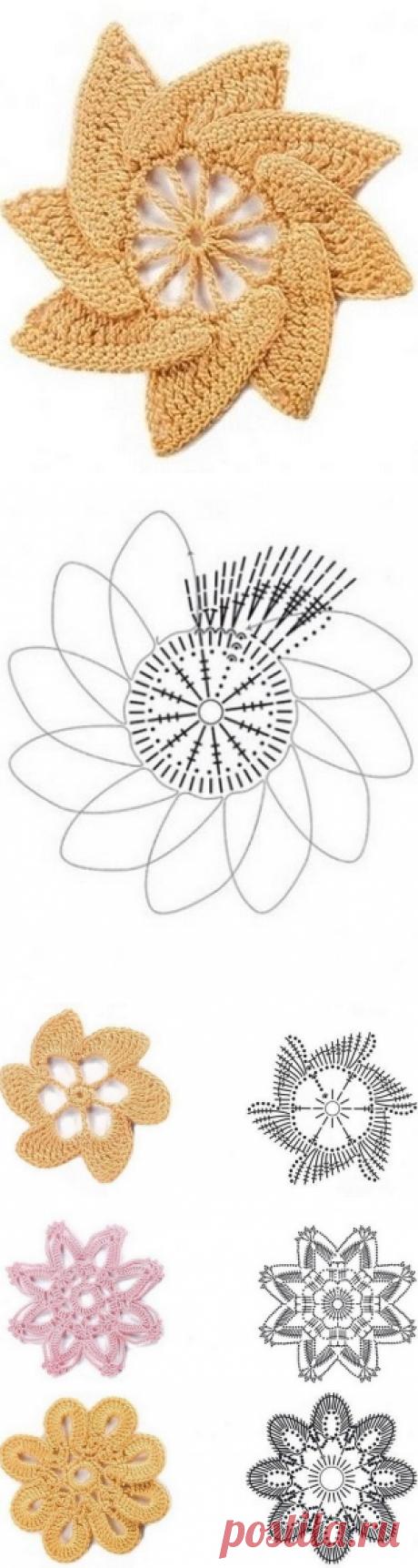 Schemes of flowers hook