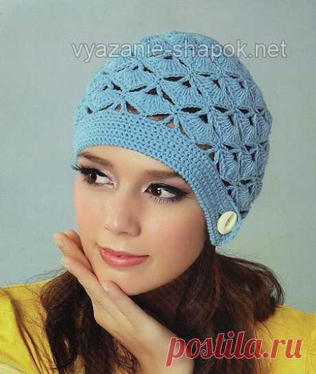 Женские шапки крючком | Вязание Шапок - Модные и Новые Модели