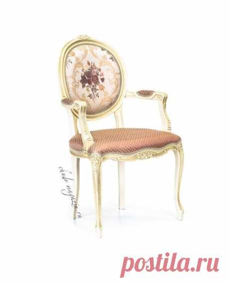 Стильное дизайнерское кресло с круглой спинкой Луиз-3 Т-16