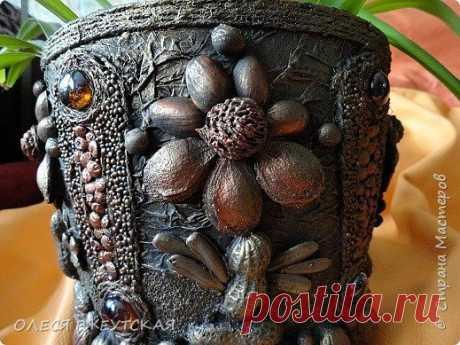 декорирование цветочных горшков и панно - Google Search