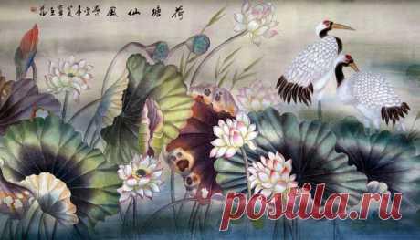 Китайский художник Lou Dahua|Пейзажи