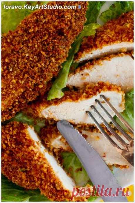 Куриные наггетсы без фритюра — в духовке. | Blog Loravo: Кулинарные записки дизайнера