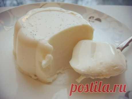 Как приготовить ванильная панна-котта - рецепт, ингредиенты и фотографии