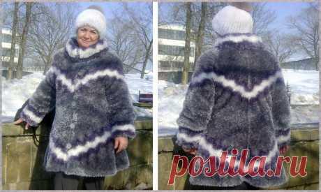 Шубки и манто можно самой связать и в магазинах за верхней одеждой не стоять   Ольга knits спицами и крючком   Яндекс Дзен