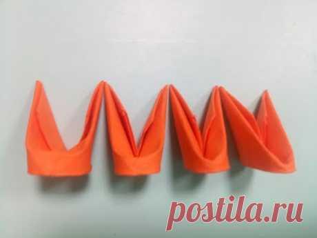 3D модули для модульного оригами