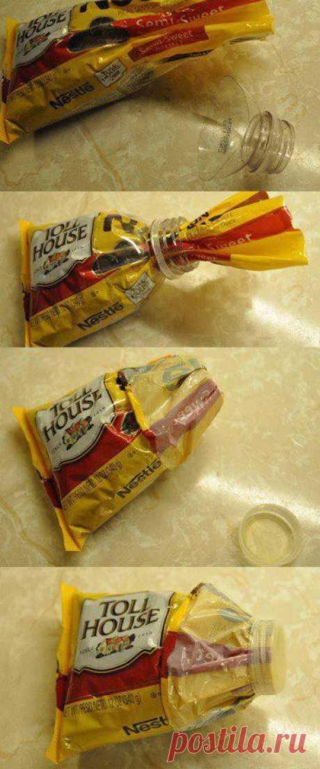 Как закрыть открытую упаковку?
