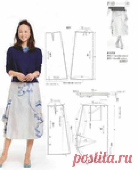 Интересная модель юбки