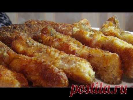Жареное филе карпа в самой вкусной панировке
