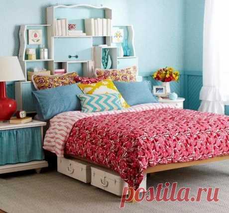 23 совета, которые помогут сделать уютной и функциональной даже крошечную спальню